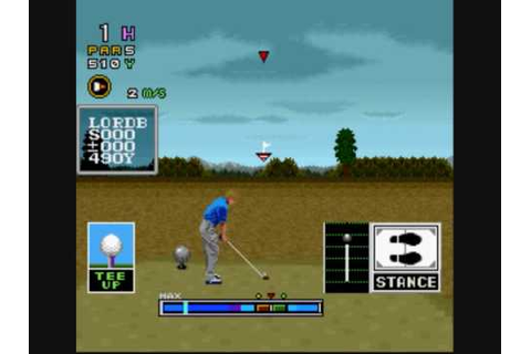 Gameplay - Mecarobot Golf SNES - YouTube