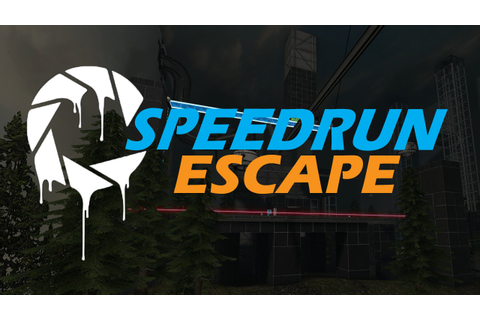 Aperture Tag Escape Map Speedrun - YouTube