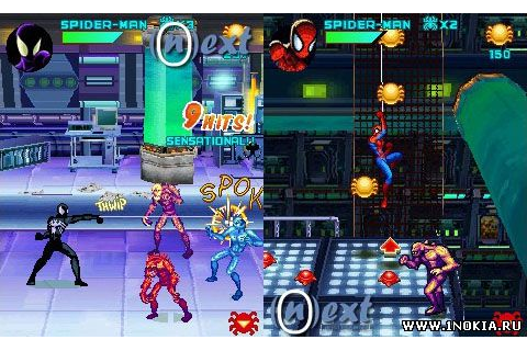 Symbian gamers: Game Spiderman Toxic City