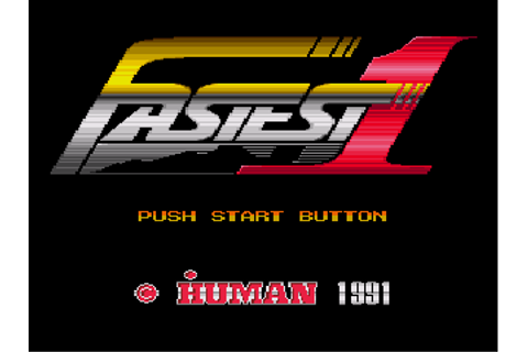 Fastest 1 - Download - ROMs - Sega Genesis/Sega MegaDrive ...