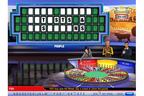 Wheel of Fortune 2 > Download PC Game