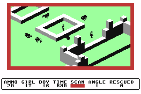 Ant Attack (1984) C64 game