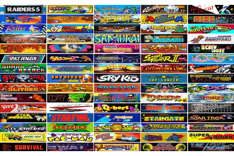 Over 900 Retro Arcade Games Are Free To Play On Internet ...
