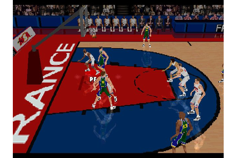 World League Basketball (1998) by Mindscape PS game