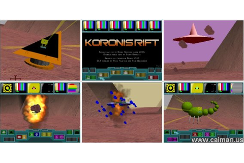 Caiman free games: Koronis Rift by Georg Rottensteiner.