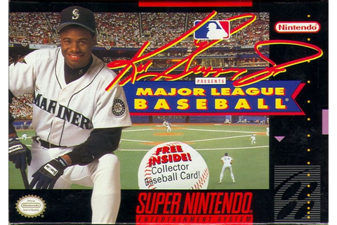 Ken Griffey Jr Presents Major League Baseball for SNES ...