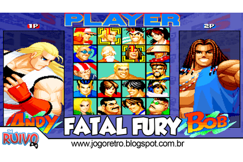 Real Bout Fatal Fury Special Mugen 2018 ~ Blog do Ruivo ...