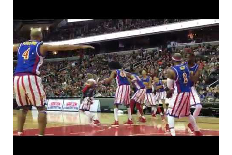 Hilarious Kid at Harlem Globetrotters Game - YouTube