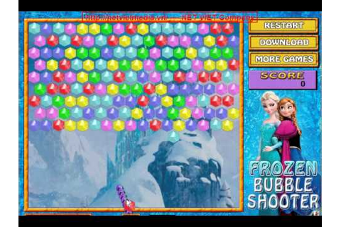 Frozen Bubble Shooter game online - YouTube