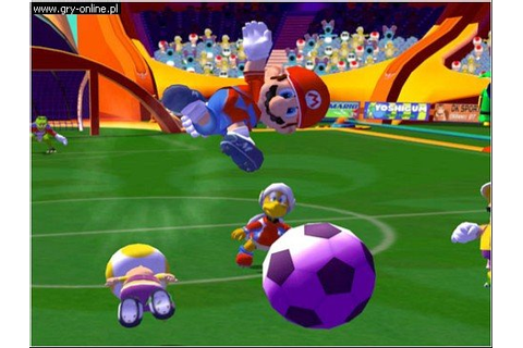 Mario Smash Football - galeria screenshotów - screenshot 1 ...