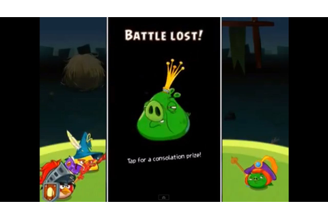 LOST FAIL SCREEN Angry Birds Epic - Castle: Cobalt Pig ...