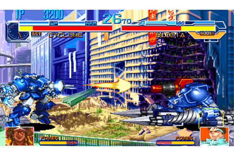 Cyberbots - Fullmetal Madness - Videogame by Capcom