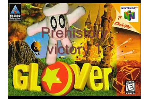 All Glover game over and Victory fanfares - YouTube