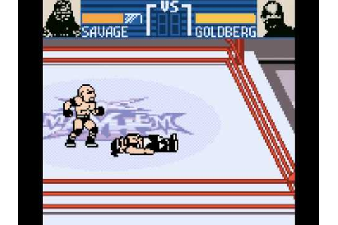 WCW Mayhem Game Boy Color - YouTube
