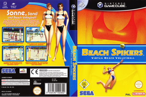GBSP8P - Beach Spikers: Virtua Beach Volleyball