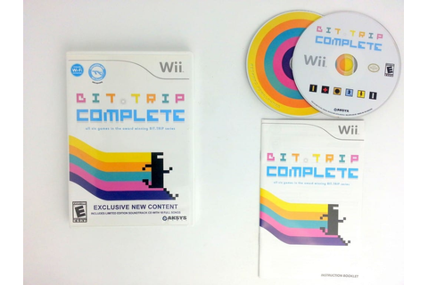 Bit.Trip Complete game for Wii (Complete) | The Game Guy