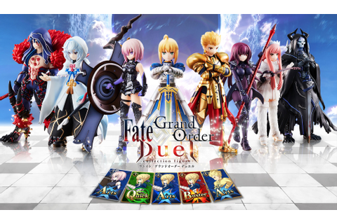 Fate/Grand Order Duel - Collectible Figure Game Details ...