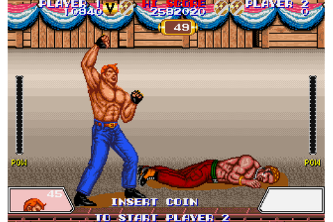 Violence Fight (1989) Arcade game