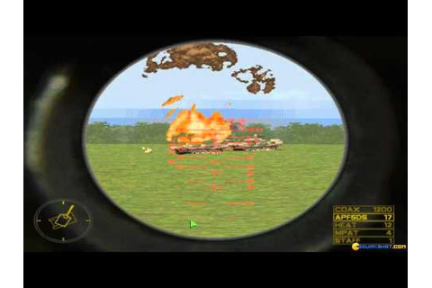 M1 Tank Platoon II gameplay (PC Game, 1998) - YouTube