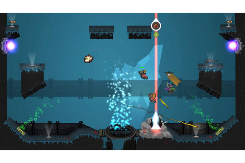 Fast-paced 2D arena shooter Crashnauts announced for PS4 ...