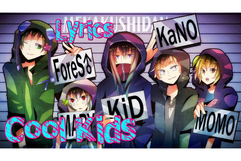 Nightcore - Cool Kids - YouTube