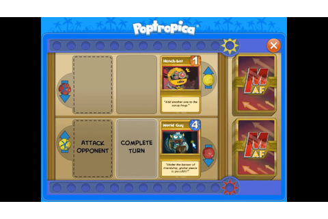 Poptropicon Island Episode 2 - Mighty Action Force Card ...