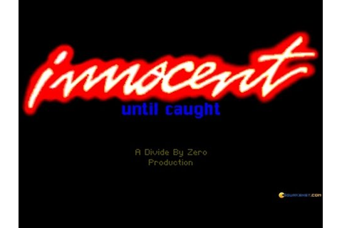 Innocent Until Caught gameplay (PC Game, 1993) - YouTube