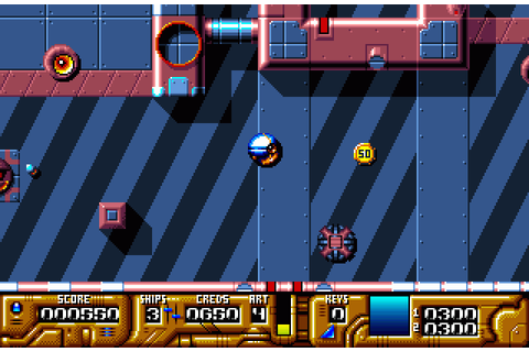 Galactic Warrior Rats (1992) by Mikev Designs Amiga game