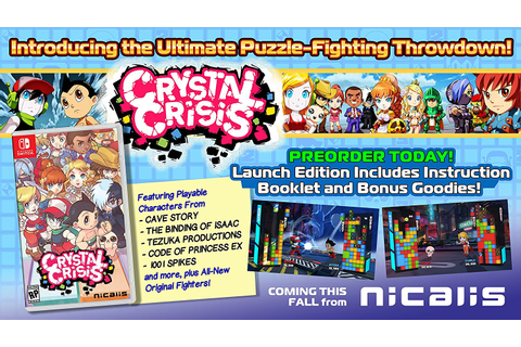 Crystal Crisis pre-orders open - Nintendo Everything
