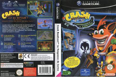 TÉLÉCHARGER CRASH BANDICOOT LA VENGEANCE DE CORTEX ...