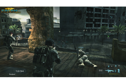 Zipper should make a REAL Socom game with the Uncharted 2 ...