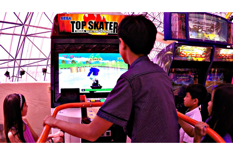 Boys Vs Girls: Top Skater Sega Skateboarding Arcade ...