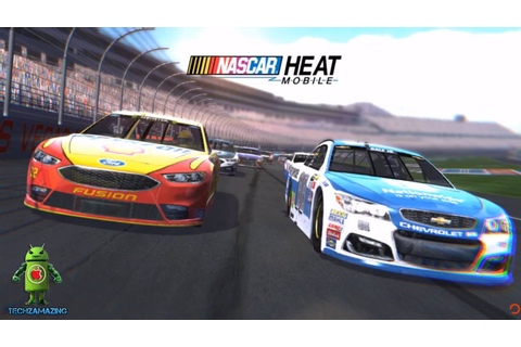 NASCAR Heat Mobile Gameplay - iOS / Android Game Video ...