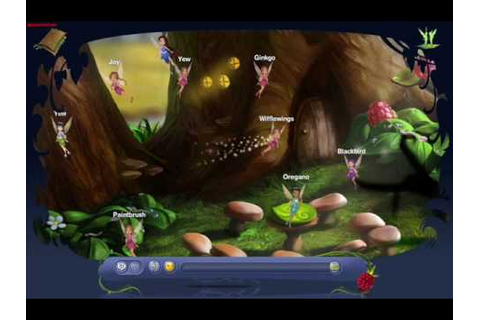 Pixie Hollow - Create a Fairy and Fly! - YouTube