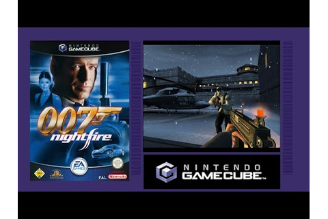 007 NIGHTFIRE (James Bond) - GameCube Game Review - YouTube