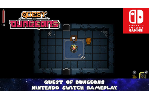 Quest Of Dungeons Nintendo Switch Gameplay - YouTube
