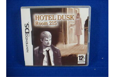 ds HOTEL DUSK Room 215 Game RARE Lite DSI 3DS Nintendo PAL ...