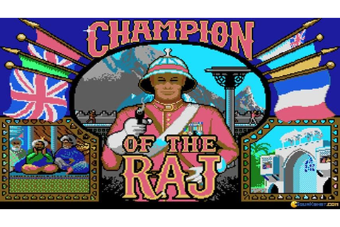 Champion of the Raj gameplay (PC Game, 1991) - YouTube