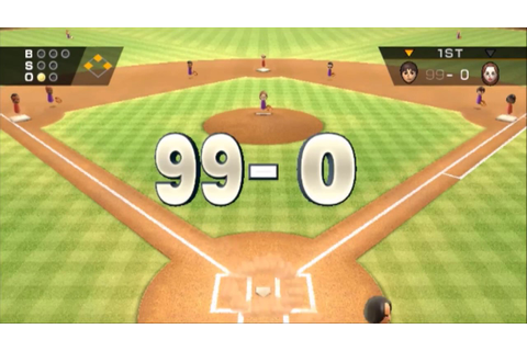 (TAS) Wii Sports Baseball: 99-0 :Max Score Possible【Full ...