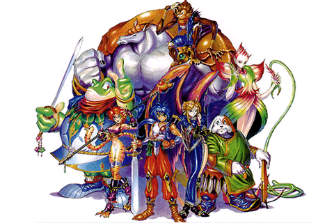 Breath of Fire II Characters - Breath of Fire