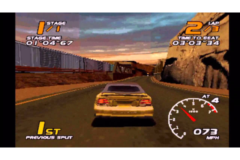 Vanishing Point (PS1 Gameplay) - YouTube
