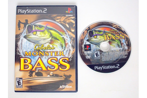 Cabela's Monster Bass game for Playstation 2 | The Game Guy