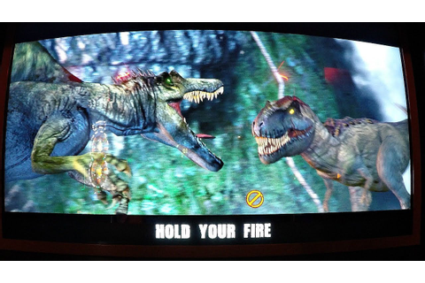 Jurassic Park Arcade Game 2 Player Closed Booth Style Game ...