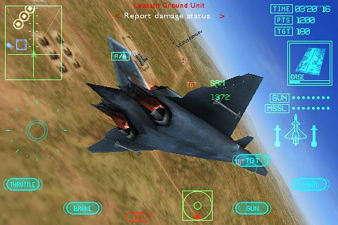 Download Ace combat Xi: Skies of incursion for iPhone free ...