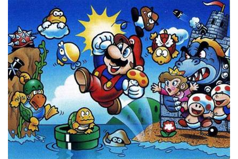The Storyteller's Blog: Irony In Video Games: Super Mario Bros