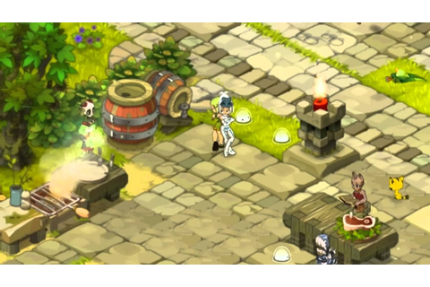Wakfu in Asia - Game features 2014 - YouTube