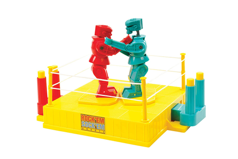 Rock em Sock em Robots Classic Box Vintage Boxing Toy Game ...