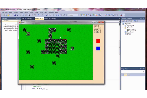 Visual Basic Game Programming Tutorial - Part 3 - Graphics ...