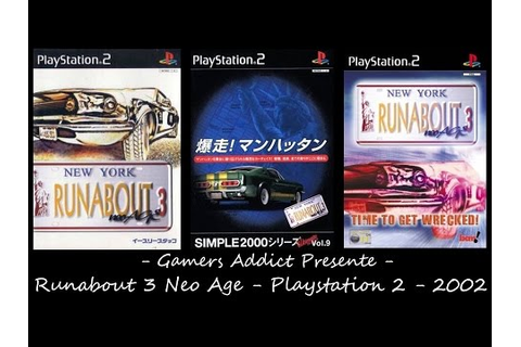 Runabout 3 Neo Age (PS2 Gameplay) | Doovi