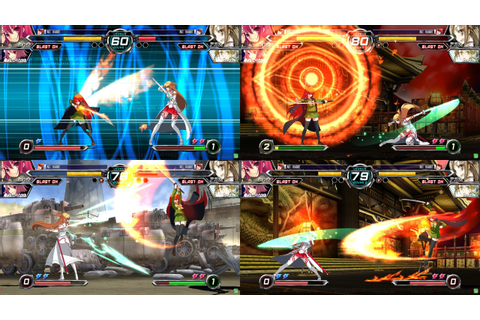 Dengeki Bunko Fighting Climax (PS3/Vita)